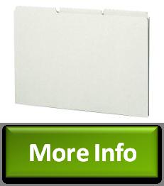 smead pressboard guides plain 13cut tab blank legal size nocturnscloister. Black Bedroom Furniture Sets. Home Design Ideas
